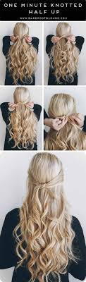 cute hairstyles you can do in 5 minutes 35 best 5 minute hairstyles the goddess
