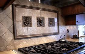 murals for kitchen backsplash kitchen backsplash mosaic and metal accent mural from metal murals