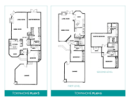 townhome floorplans