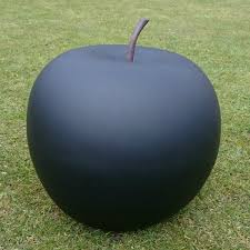 apple garden ornament black large new garden style