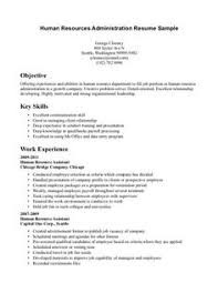 Human Resource Resume Samples human resource assistant resume resumecompanion com hr hr