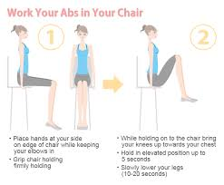 Office Chair Exercises Exercise At Work Without Getting Embarrassed On The Job Slism