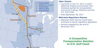Keystone Xl Pipeline Map Transcanada Top Tier Massive Midstream Company Transcanada