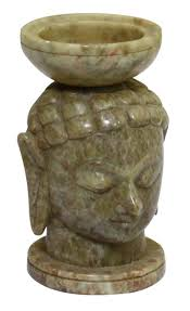 wholesale lord buddha statue sculpture with a candle holder