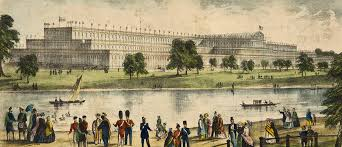 At Hyde Park The Palace Hyde Park In 1851 Riba Library