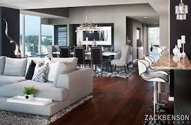 Cosmopolitan Living In Downtown San Diego Modern Family Room - Modern family room