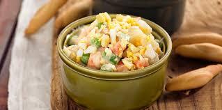 cuisine russe facile salade russe facile et pas cher recette sur cuisine actuelle
