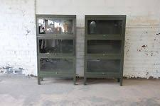 Steel Barrister Bookcase Metal Antique Bookcases Ebay