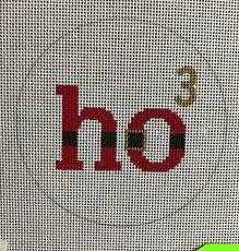 ho cubed needlepoint canvas ornament wool grace