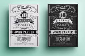 vintage birthday invitations redwolfblog com