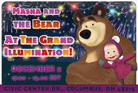 meet masha bear friday columbus ohio