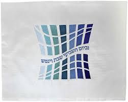 shabbat challah cover judaica gifts geometric shapes shabbat challah cover
