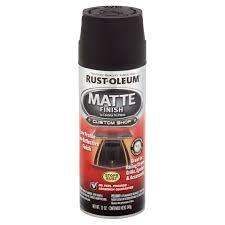 rust oleum automotive enamel matte black walmart com
