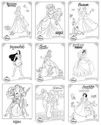 awesome collection disney princess coloring pages print