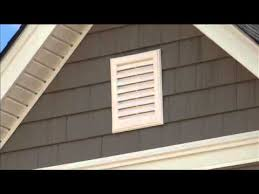 installing a gable vent fan gable vents sd video sharing youtube