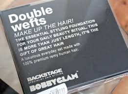 Blonde Weft Hair Extensions by Review Bobby Glam Double Weft Hair Extensions Couture