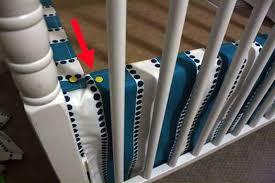 Crib Mattress Base Tutorial How To Make Sew An Easy Diy Crib Skirt