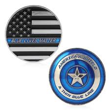 thin blue line lives matter police america u0027s shield commemorative