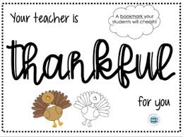 thanksgiving bookmark by brookes bundles teachers pay teachers