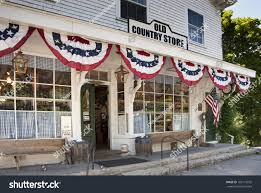 old country store small new england stock photo 107175095
