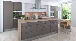 kitchen style butcher block countertop natural finish backsplash butcher block countertop natural finish backsplash gray hardwood floors gray kitchen cabinets stainless steel glass canopy range hood