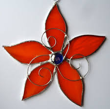 154 best stain glass flowers images on stained glass
