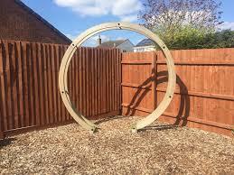 wedding arches gumtree wooden garden wedding circle arch feature in broughton astley