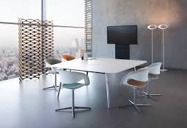 Square Boardroom Table Keypiece Conference Table Square By Walter Knoll Stylepark