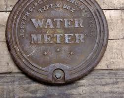 new orleans water meter necklace water meter etsy