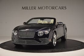 black bentley convertible 2017 bentley continental gt v8 stock b1184 for sale near
