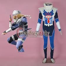 Zelda Costumes Halloween Buy Wholesale Zelda Sheik Costume China Zelda Sheik