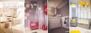 décoration chambre bébé garçon idee deco chambre bebe fille gris et idées décoration