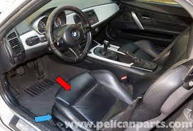 bmw z4 m seat removal 2003 2006 pelican parts diy maintenance
