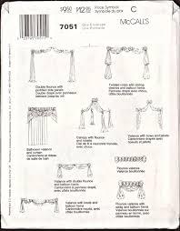 90 u0027s mccall u0027s 7051 home decorating window treatments bed canopy