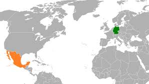 Mexico On World Map by Germany U2013mexico Relations Wikipedia
