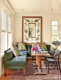 Dining Room Banquette Seating Look Inside An Early 20th Century Shingle Style Getaway In The