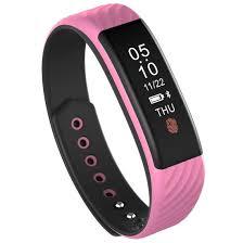 oled health bracelet images Pink screen display bluetooth smart bracelet ip67 waterproof w810 jpg