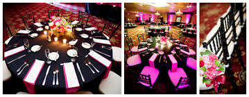 pink table l 49 black and pink table settings black and white stripe table