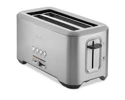 Waring 4 Slice Toaster Review Breville Bit More Toaster Long Slot 4 Slice Williams Sonoma