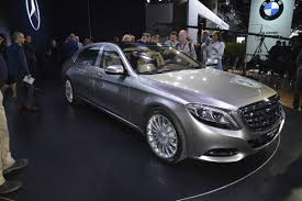inside maybach ultra luxurious mercedes maybach s600 appears in la auto express