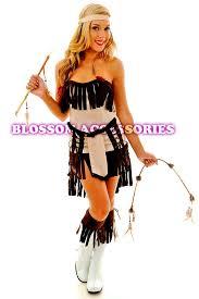 Pocahontas Halloween Costume Women Pocahontas Indian Womens Costume Blossom Costumes