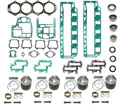 chrysler u0026 force outboard powerhead rebuild kits mastertech marine