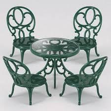 Sylvanian Families Garden - buy ornate garden table u0026 chairs sylvanian families figures