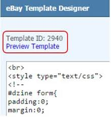 ebay listing templates channelgrabber classic knowledgebase