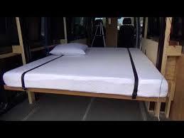 happijac bed mercedes sprinter rv conversion happijac bed lift quick tour