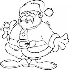 free coloring pages santa claus hat printable coloring