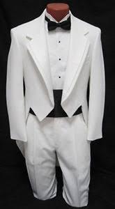 mardi gras tuxedo 38r mens white fulldress tuxedo jacket tailcoat prom mardi