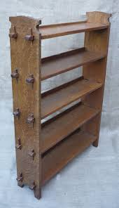 Arts Crafts Bookcase Arts And Crafts Bookcase Of Pegged Construction Antiques Atlas