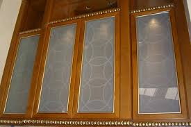 etched glass kitchen cabinet doors glass door cabinets inserts frosted carved custom glass