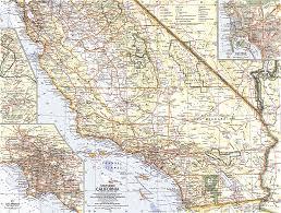 map of california southern california map